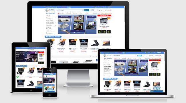 Các tính năng của thiết kế website máy tính