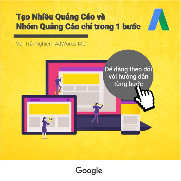 Giới thiệu giao diện sử dụng của Google ads 8