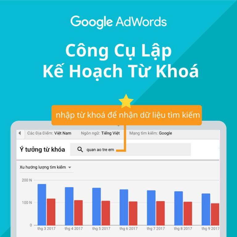 Giới thiệu giao diện sử dụng của Google ads 14