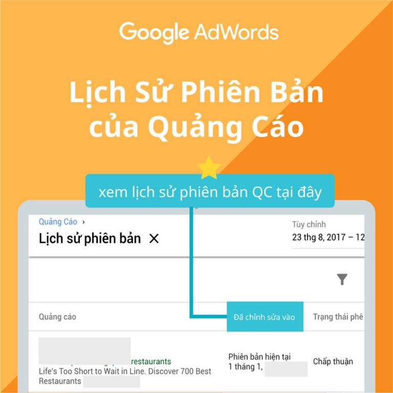 Giới thiệu giao diện sử dụng của Google ads 16