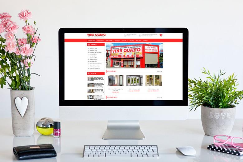 Thiết kế website cửa cuốn để tăng doanh số cho doanh nghiệp công ty