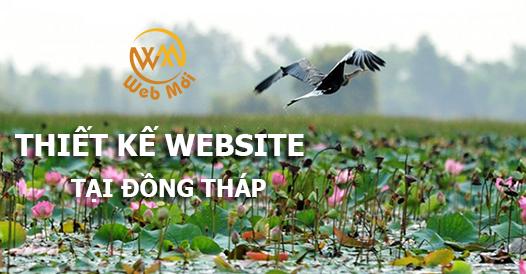 Thiết kế website tại Đồng Tháp
