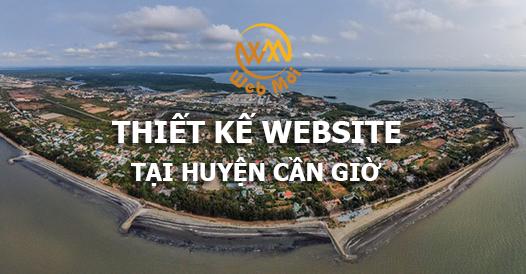 Thiết kế website tại huyện Cần Giờ