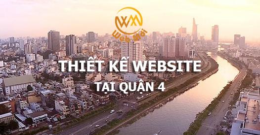 Thiết kế website tại quận 4 chuẩn SEO