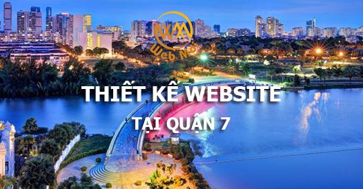 Thiết kế website tại quận 7 chuẩn SEO