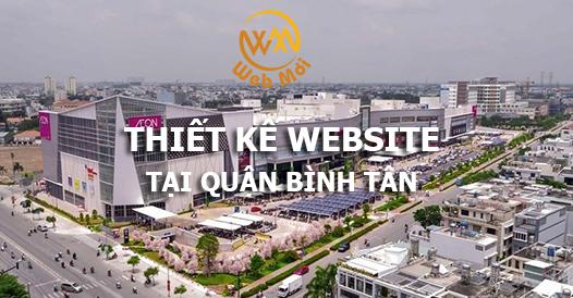 Thiết kế website tại quận Bình Tân