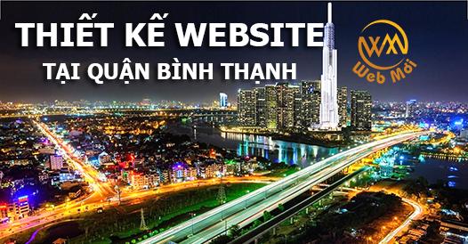 Thiết kế website tại quận Bình Thạnh