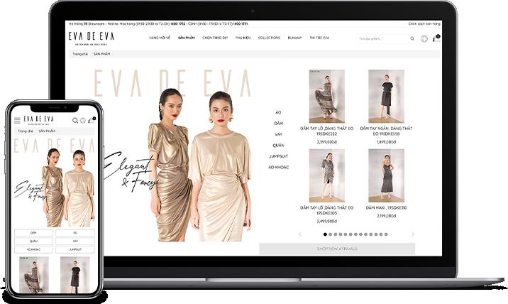 Thiết kế website thời trang may mặc mang lại những lợi ích cho bạn