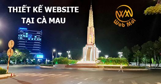 Thiết kế website tại Cà Mau chuẩn SEO