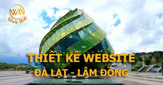 Thiết kế web tại Đà Lạt - Lâm Đồng